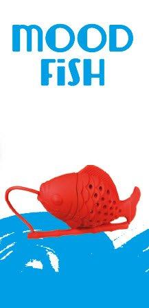Blisslii mood fish tea infusers diffusers loose tea leaf for Fish tea bags