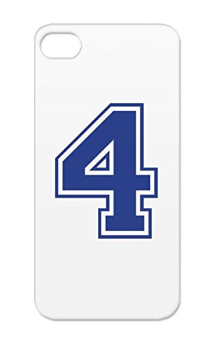 Tear-Resistant Basketball Space Symbols Shapes Run Formula 1 Soccer Winner Tennis Athletics Number 4 Team Sports Jersey Swim Champion Baseball Football Handball College High School Placement Bike Golf Navy For Iphone 5/5S Cover Case front-750828