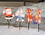 Rudolph the Red Nosed Reindeer Christmas Lighted Pathway Markers