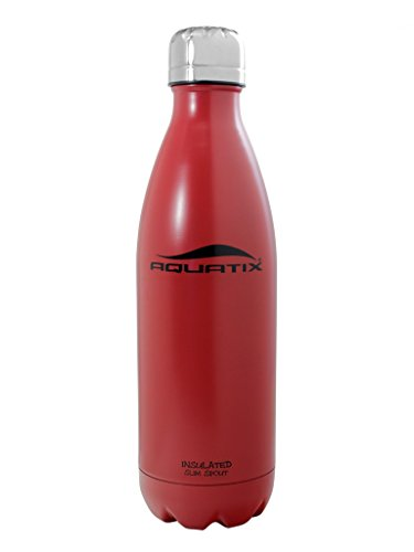 Red 17 Oz Ultimate Sport Bottles Personal Hydration Easy Best Ever Insulated Eco-friendly Water Bottle on Amazon Won't Leak or Sweat Try It Risk Free 100% Pure & Safe Stainless Steel Won't Rust or Crack, No Metal Taste, BPA & Toxin-free. Keep Drinks Cold 24 Hrs, Hot 12 Hrs Perfect for Yoga Soccer Basketball Fitness Exercise Football Golf Outdoor Hiking Rock Climbing Hunting Fishing Softball Baseball Maximum Chill Factor