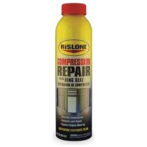 Rislone 4444 8-Cylinder Compression Repair with Ring Seal - 20 oz.