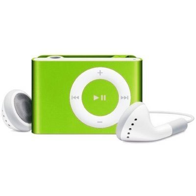 (GREEN) MINI CLIP ON MP3 PLAYER. IT SUPPORTS 1GB,2GB,4GB,8GB SDHC MEMORY CARDS SD/TF .MEMORY NOT INCLUDED (BULK PACKAGE)