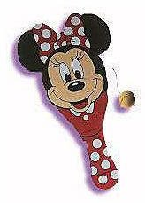 MICKEY MOUSE DISNEY MICKEY'S STUFF FOR KIDS PADDLE BALL MANUFACTURED IN 1993 BY TOOTISTOY