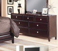 Claret Dresser By Crownmark Furniture