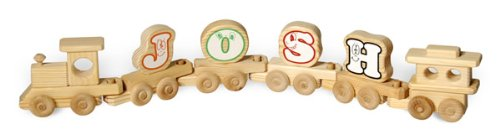 DoodleTown Toys - A Custom Name Train, Made in USA