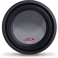 Alpine Swr-t12 12-Inch 1800 Watt 4 Ohm Shallow Mount Subwoofer (Shallow Mount Alpine Type R compare prices)