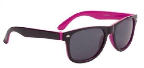 Ciliegia Wayfarer bicolore occhiali da sole Cool Shades Bambino Ragazza 100% protegge dai raggi UV 66