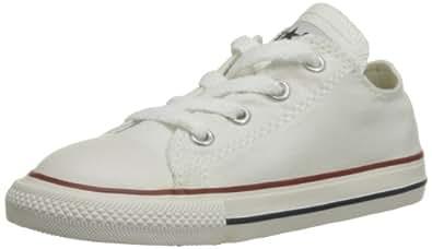 CONVERSE Chuck Taylor All Star Core Ox 015810-21-3, Unisex - Kinder Sneaker, Weiß (Blanc Optical), EU 24