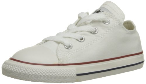 CONVERSE Unisex-Child Chuck Taylor All Star Core Ox Trainers 015810-34-3 Blanc Optical 2.5 UK, 35 EU