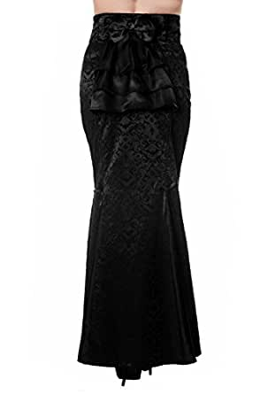 Banned Gothic Ivy Pattern Long Skirt at Amazon Womenu2019s Clothing store