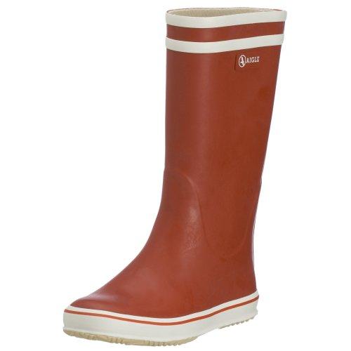 Aigle Malouine 25138, Stivali di gomma donna, Rosso (Rot/rouge/blanc), 38