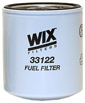 WIX 33122 Spin-On Fuel Filter, Pack of 1