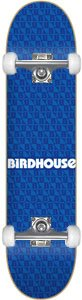 Birdhouse Repeat Complete Skateboard - 8.0 w/Raw Trucks & White Wheels