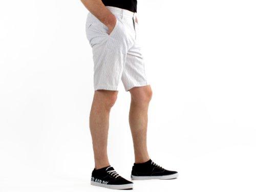 Antik Kustom E09_11096 Straight White Man Shorts Men - 44