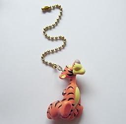 New Disney Tigger Figure Ceiling Fan Light Lamp Pull Chain