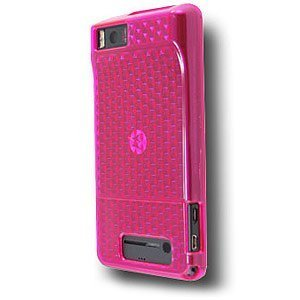 OEM Verizon High Gloss Silicone Case for Motorla