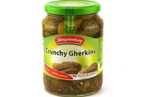 hengstenberg knax gherkins (crunchy pickles) - 24oz [3 units] (038274415053) (Knax Pickles compare prices)