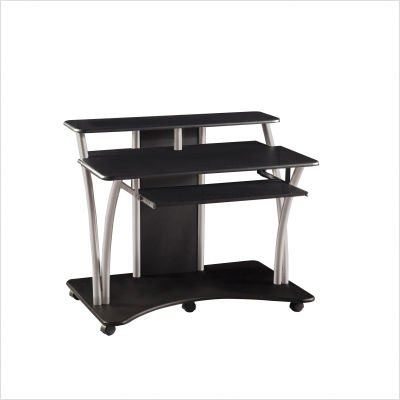 Buy Low Price Comfortable Saturn Black Computer Desk (B002PEUE4G)