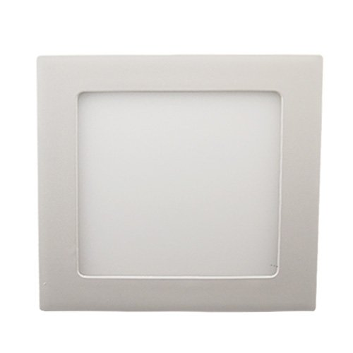 Lohas® 12W 6 Inch Opening Hole Square Led Ceiling Light Recessed Kitchen Bathroom Lamp Wall Light Cool White - Pack Of 4
