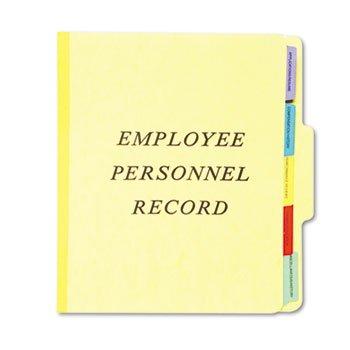 Vertical Personnel Folders, 1/3 Cut Top Tab,