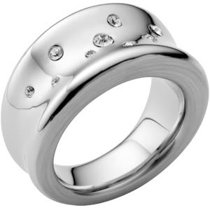 DKNY Women's Organic Stainless Steel Ring P NJ1636040508