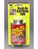 North American NA55 Black Brush-On Electrical Tape - 4 fl. oz.
