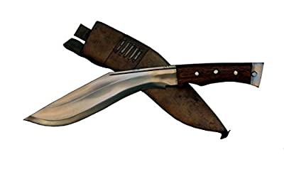 "Genuine Gurkha Aeof Kukri - 11"" Authentic British Gurkha Afghan Issue Khukuri - Handmade By Ex Gurkha Khukuri House in Nepal from Hand Forged Gurkha Blade"