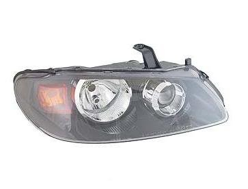 NISSAN ALMERA 2/2003-2006 HEADLIGHT / HEADLAMP BLACK INNER AMBER INDICATOR DRIVERS SIDE