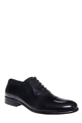 Kenneth Cole Men's Chief Council Oxford Dress Shoe - Black Leather