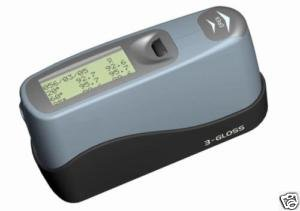 Glossmeter Gloss Meter, 20, 60, 85 deg. Memory Software