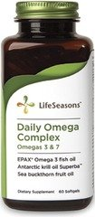 Life Seasons - Daily Omega Complex Omega 3 & 7, 1500 Mg, 60 Softgels