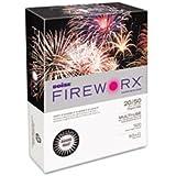 Boise Fireworx Color Copy/Laser Paper, 20 lb, Letter Size (8.5 x 11), Smoke Gray, 500 Sheets (MP2201-GY)