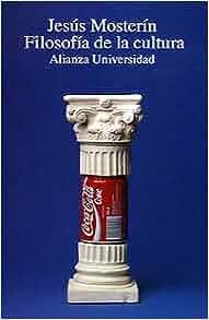 Filosofia de la cultura/ Philosphy of Culture (Alianza