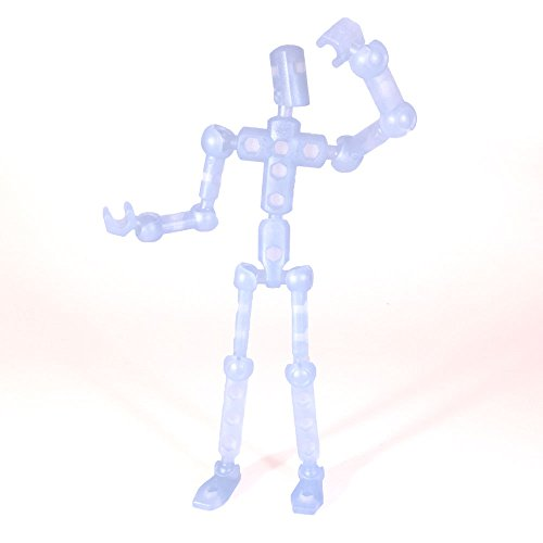ModiBot Mo Action Figure Kit - Ice Blue - 1