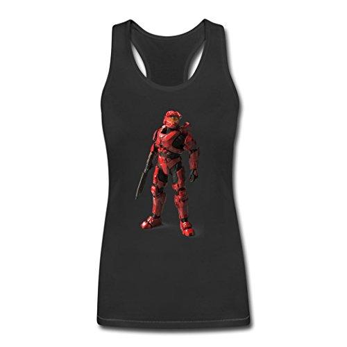 Halo 5 Guardians Spartan Mark VI Printed Tank Top Vest for Women XL