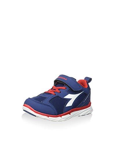 Diadora Sneaker Nj-303-2 Jr [Blu/Bianco]