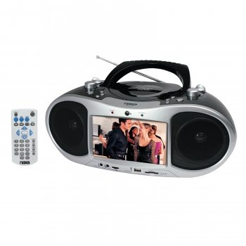 7 Inch Naxa Ndl-252 Ac/Dc Tft Lcd Portable Dvd Player With Am/Fm Stereo Radio With Usb/Sd/Mmc Inputs