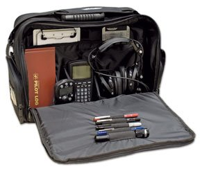 Pilot'S Tech Flight Bag With Padded Sleeve For Laptop/Efb