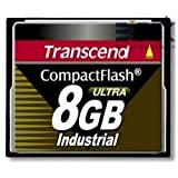 Transcend Ultra Speed Industrial - Flash memory card - 8 GB - 100x - CompactF...