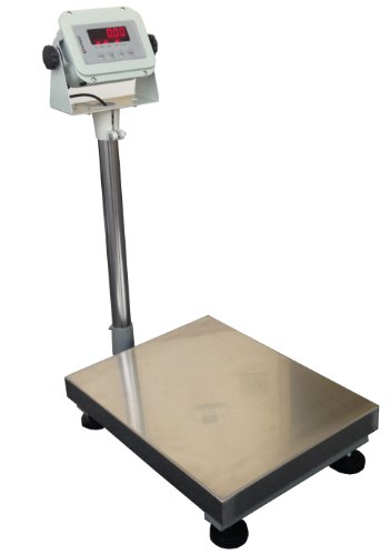 United-600-lbsx002lbs-14x18-Platform-becnch-Shipping-Weight-Digital-Scale-Warehouse-Platform-Mailing-w-indicator-Industrial-Bench-Floor
