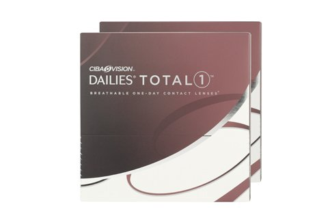 Dailies Total 1 90 Pack Contact Lens (90 lenses/box - 2 boxes)