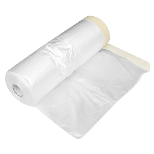 Clear Plastic Protecting Masking Film Cover Roll for Auto Vehicle