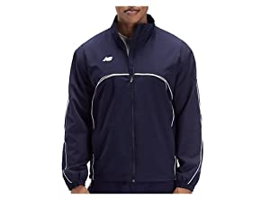 New Balance Team Dugout Jacket, Navy, Large by New Balance