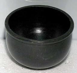 Black Stone Scrying Bowl 3 dia.\