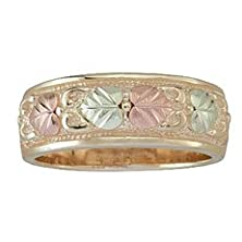 buy Black Hills Gold Womens Wedding Band From Coleman - Size 7