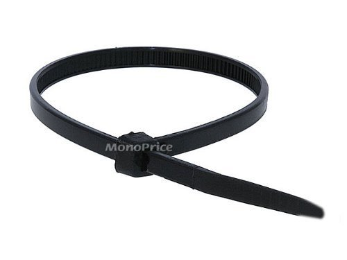 Cable Tie 8 inch 40LBS, 100pcs/Pack - Black