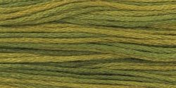 Weeks Dye Works Six Strand Embroidery Floss 5 Yards Moss ODF-2201; 5 Items/Order