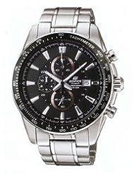 Casio Edifice Analog Black Dial Men's Watch EF-547D-1A1VDF