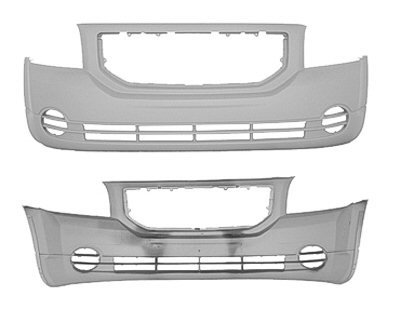 2007-2011 Dodge Caliber Front Bumper Without Fog Holes (Caliber Dodge Front Bumper compare prices)