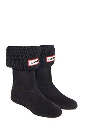 Kid's Half Cardigan Stitch Boot Sock